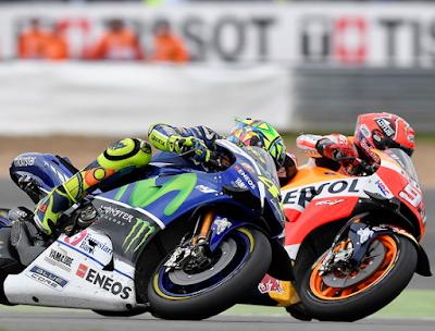 Bernafsu di Silverstone, Marquez Teringat Sepang Clash?