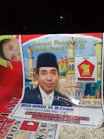 "Giliran Para Pendukung dan Simpatisan di Ambalawi ""Tancap"" Baliho Balon Wagub NTB, Mori Hanafi"