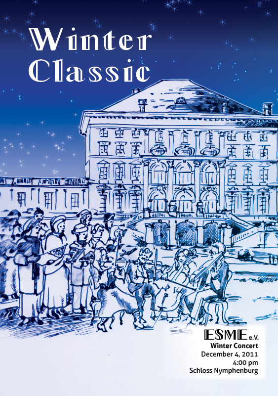 Adri Makes A Thing Or Two Illustration Winter Classic Program