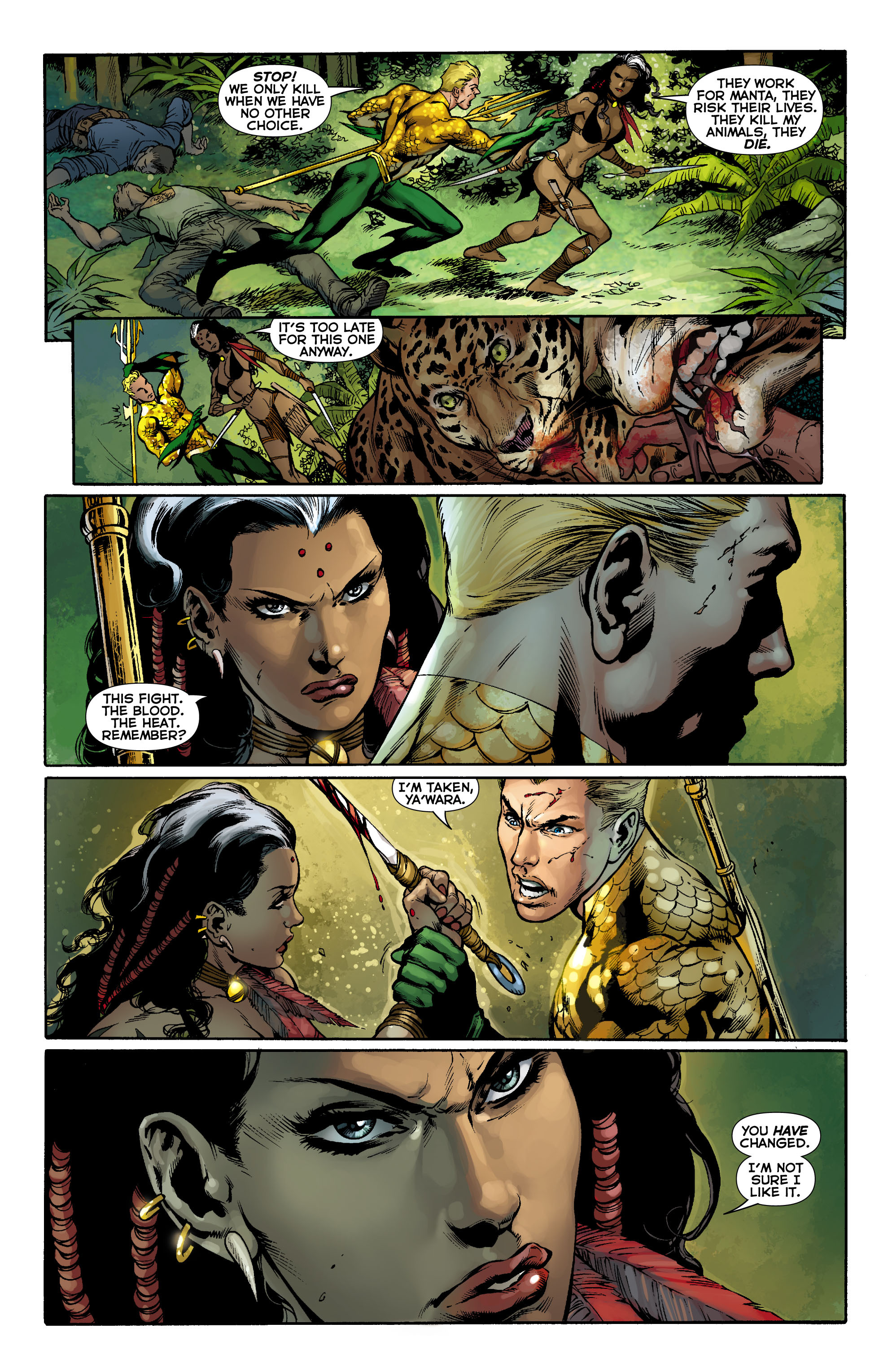 Read online Aquaman (2011) comic -  Issue #9 - 14
