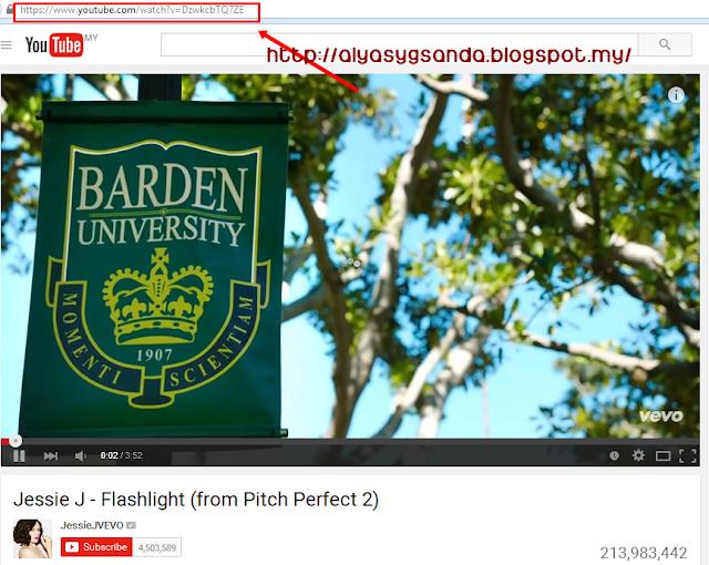 cara nak download movie dari youtube