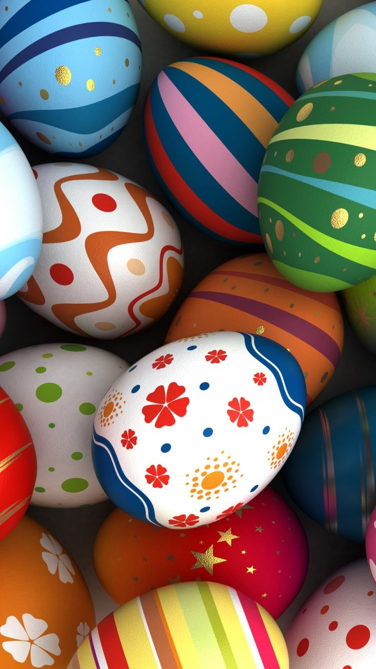 colorful Easter iPhone Wallpapers