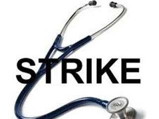 kgmu university doctors strike