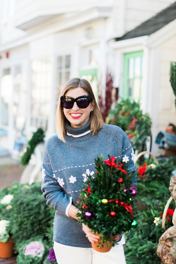 Snowflake Holiday Sweater