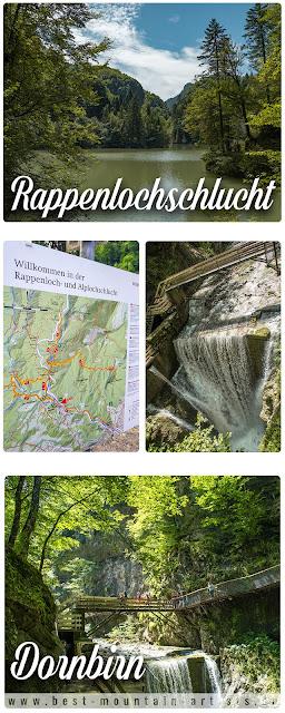 Rappenlochschlucht Staufensee Dornbirn Wandern-Vorarlberg