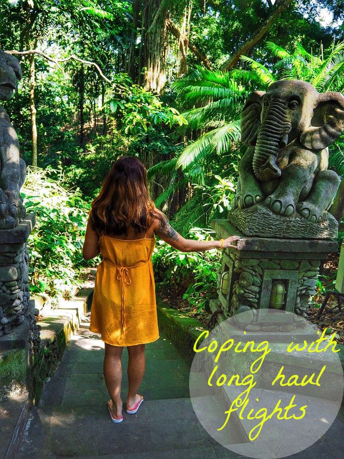 Coping with long haul flights - Bali