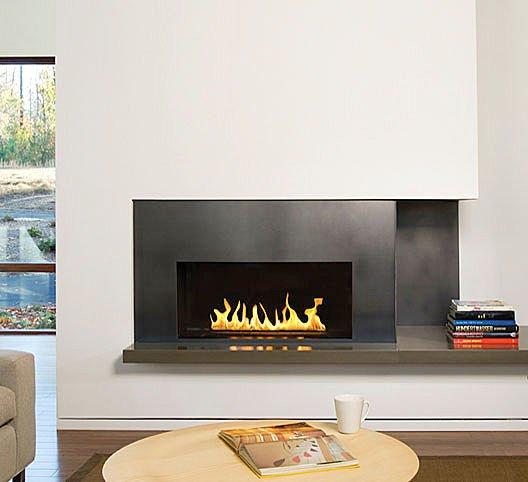 Trend Homes: Modern Wall Fireplace Design