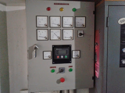 service panel automatic genset