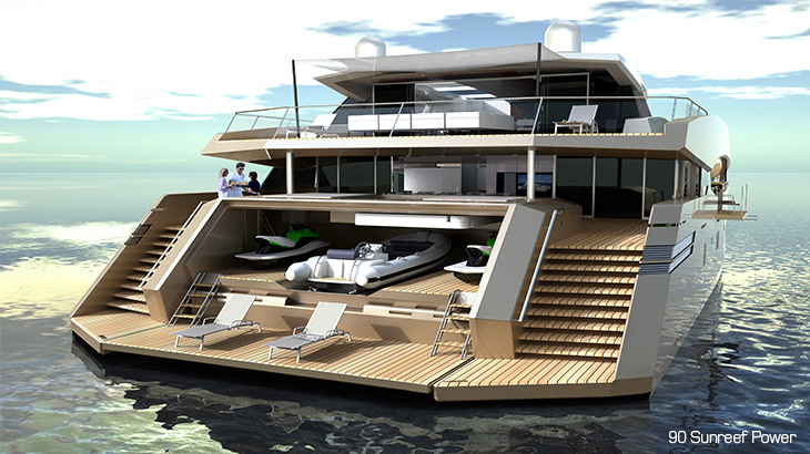 Luxury Catamaran Sunreef Scores 3 New Luxucatamarans 80