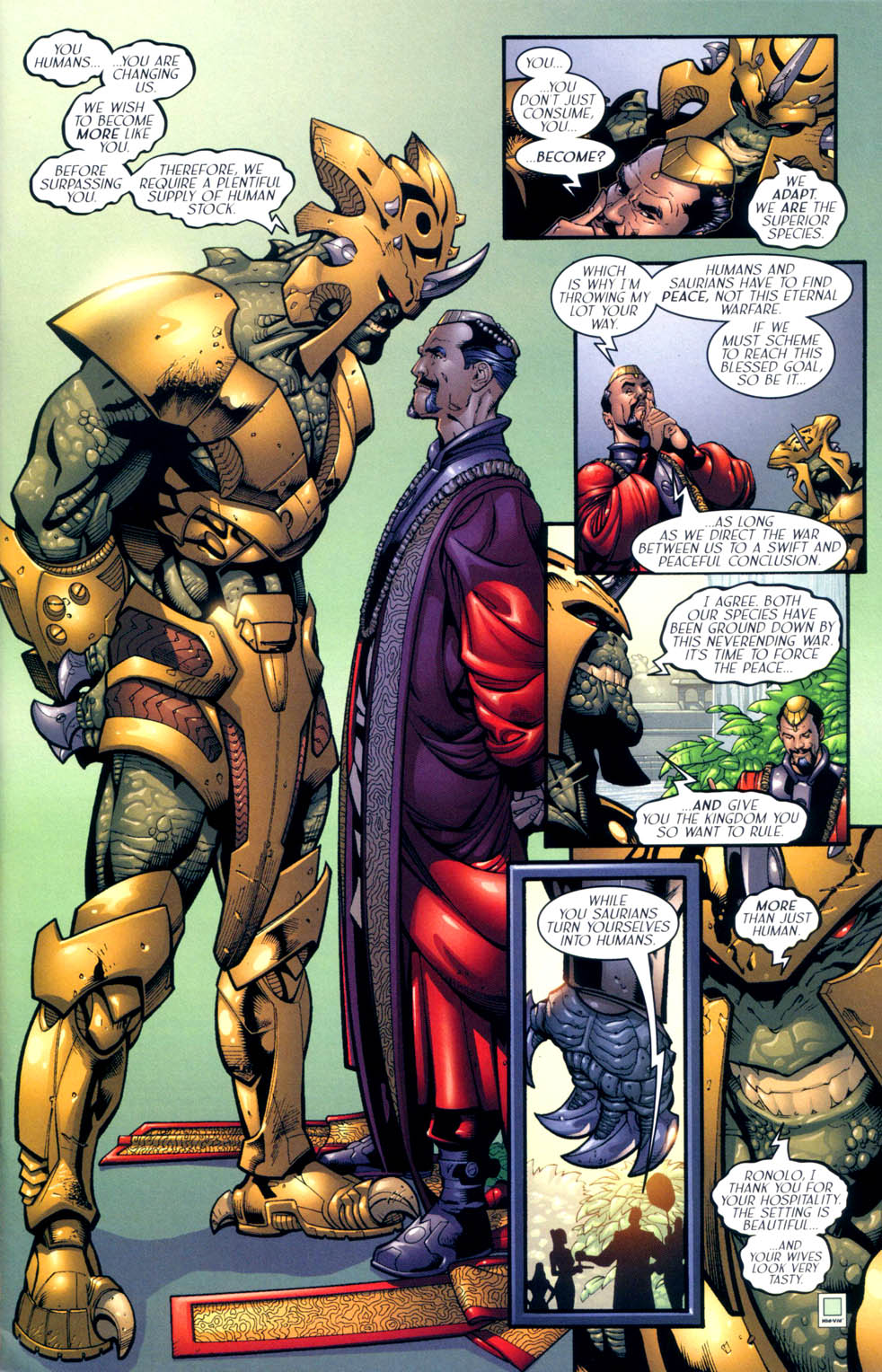 Read online Sigil (2000) comic -  Issue #10 - 6