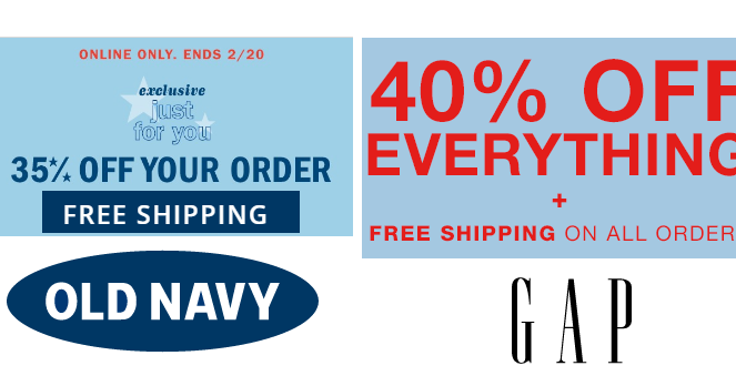 Old Navy is the place to find the coolest fashions at great thegamingpistol.ml On Your Purchase · Latest Coupons & More · Get a Lower Price · New Coupons AddedTypes: Sitewide Coupons, Exclusive Codes, One-Day Only Promotions, Validated Coupons.