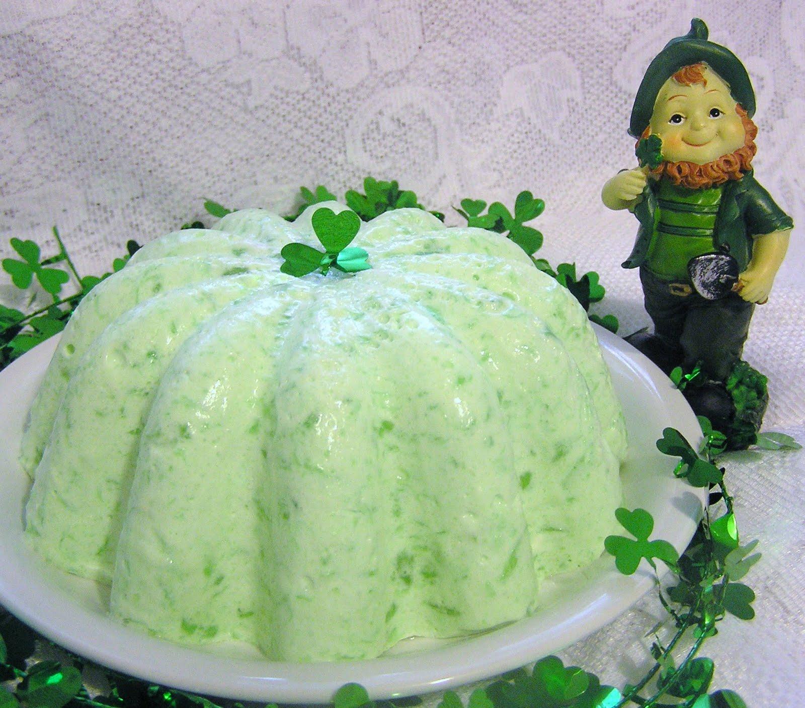5c02ffad00 Creative Tennessee Mountain Cookin  St. Patrick s Day Jello Salad