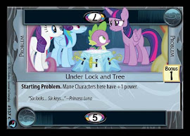 My Little Pony Under Lock and Tree High Magic CCG Card