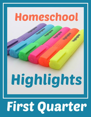 Homeschool Highlights - First Quarter on Homeschool Coffee Break @ kympossibleblog.blogpsot.com - Come link up the highlights of your homeschool week!