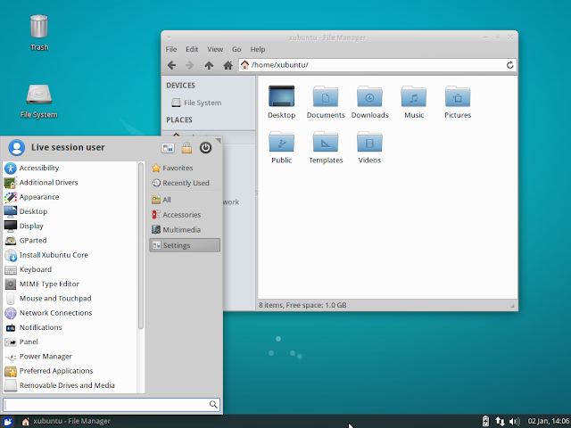interface-grafica-xfce-linux-ubuntu