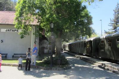 Servië, stationnetje Mokra Gora