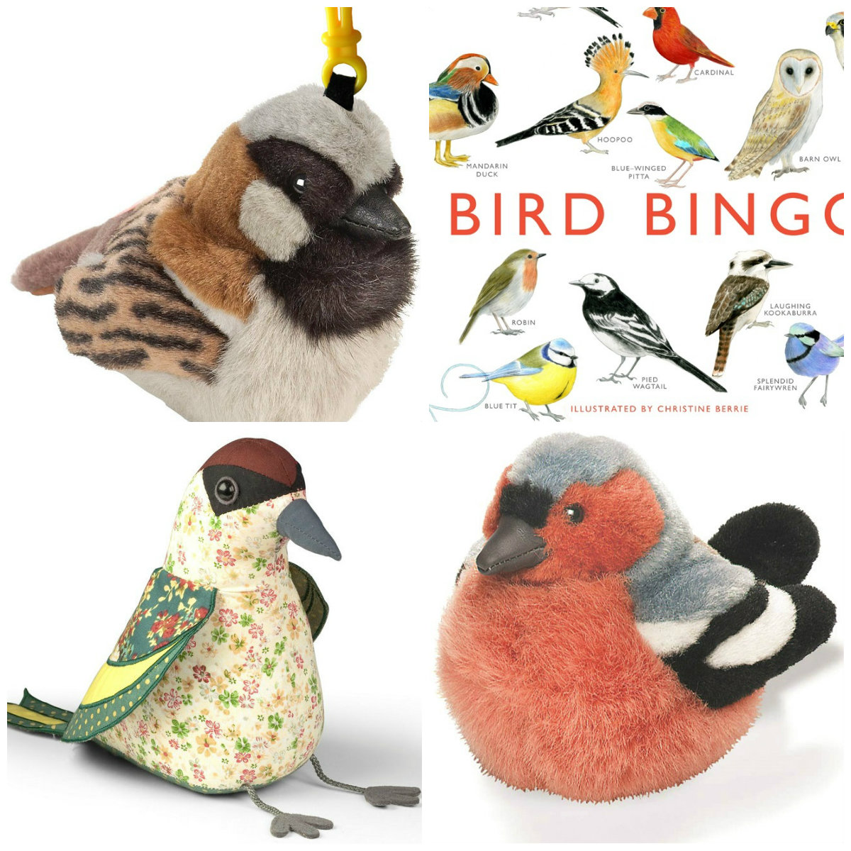 Bugs and Fishes by Lupin: Gift Ideas for Bird Lovers, from