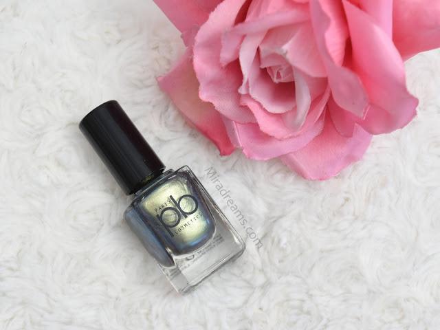 Les nouveautés PB Cosmetics, le vernis à ongles V24
