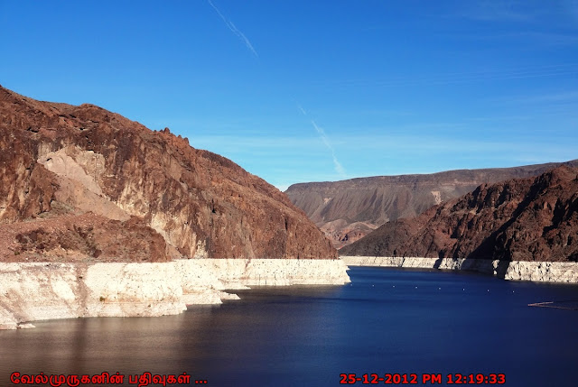 Hoover Dam in Colorado River