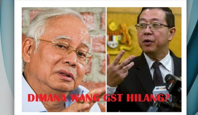 """Siapa """"rompak"""" RM19.2 bilion wang tuntutan balik input GST?"""