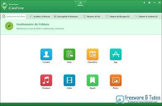 5 licences de Tenorshare iCareFone Pro à gagner !