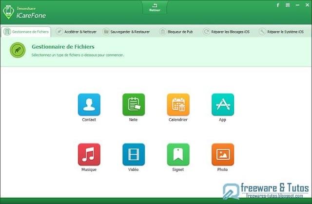 Concours : 5 licences de Tenorshare iCareFone Pro à gagner !