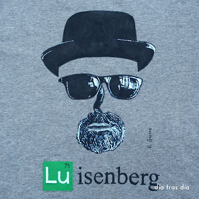 Camiseta personalizada breaking bad