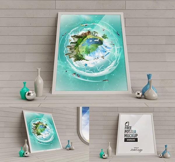 PSD Poster Mockup Studio