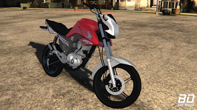 Download, mod, moto, Honda, fan, 160, 2018, GTA San Andreas, GTA SA, PC