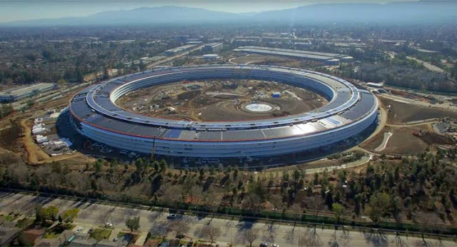 Apple Park's new office in Cupertino