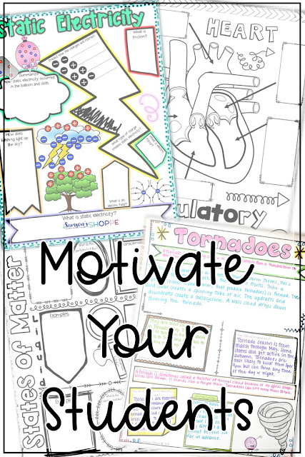 Using doodle sketch notes to motivate your students during the holidays and testing season