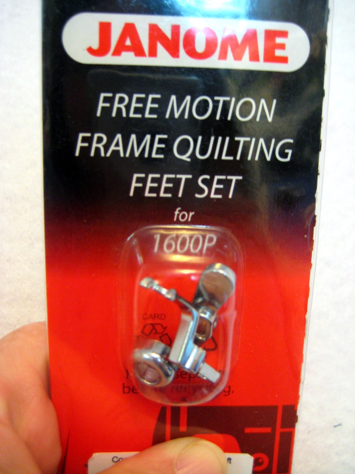 free motion quilting foot set