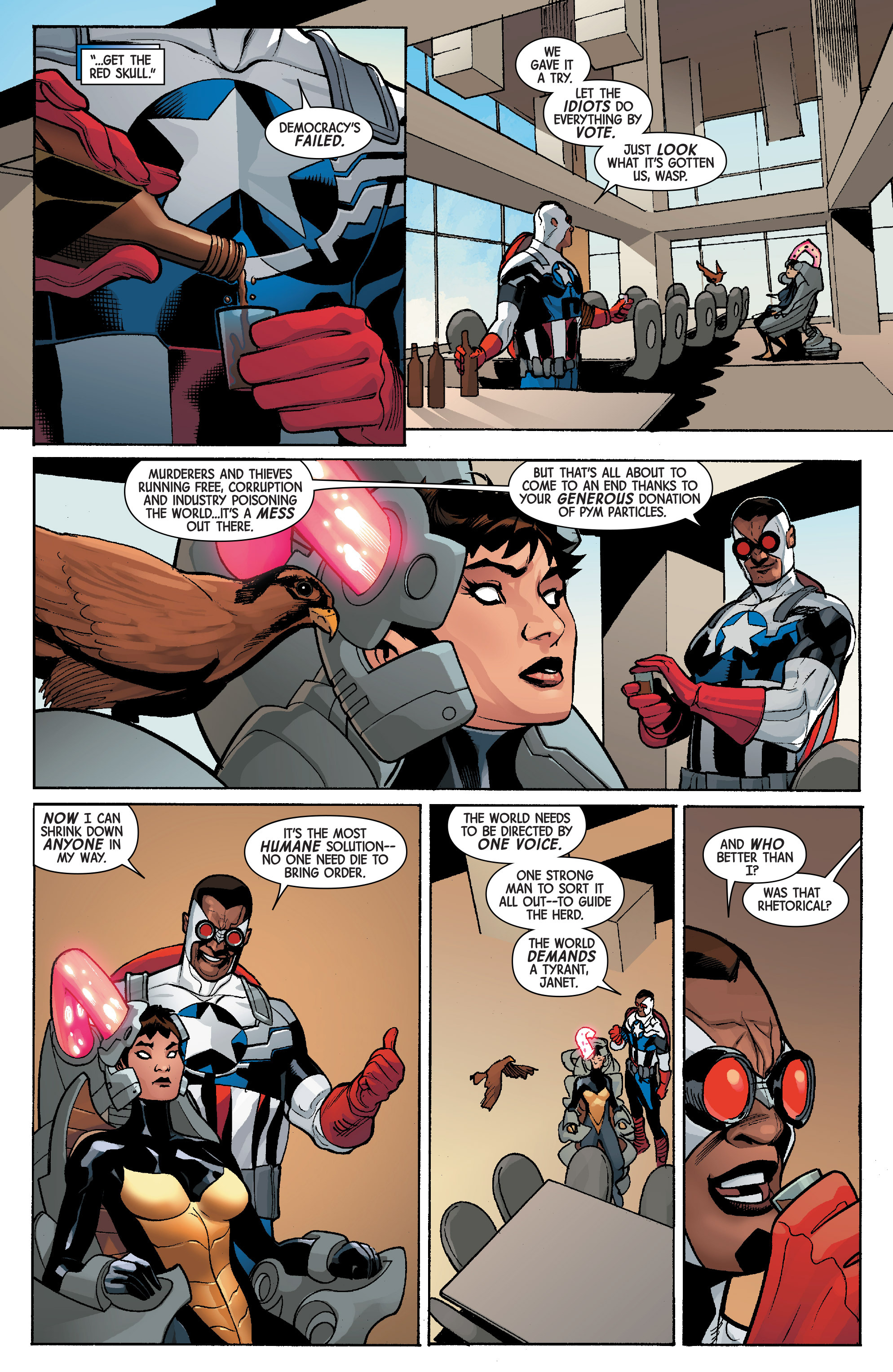 Read online Avengers & X-Men: AXIS comic -  Issue #5 - 18
