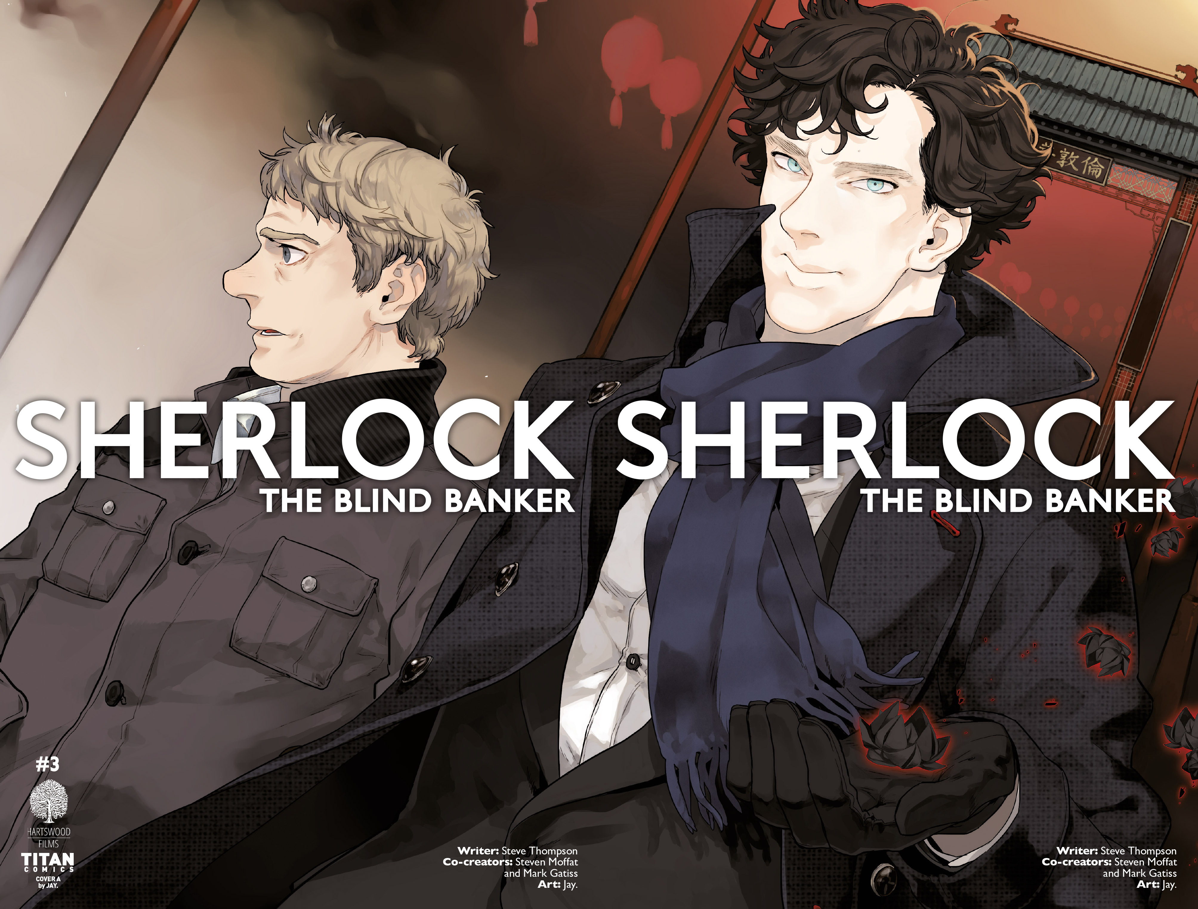 Read online Sherlock: The Blind Banker comic -  Issue #3 - 3