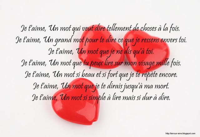 proverbe d'amour je t'aime