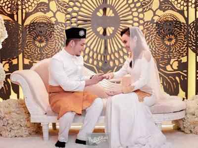 Gambar pernikahan King coco