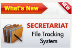 secretariat file tracking
