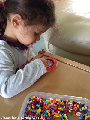 When are children old enough for Hama beads?