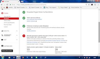 persyaratan baru youtube untuk memonetisasi channel youtube