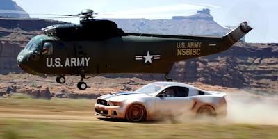 Urmărire în filmul Need For Speed