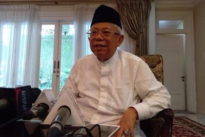 Prabowo Sujud Syukur Klaim Kemenangan, Ini Kata Ma'ruf Amin