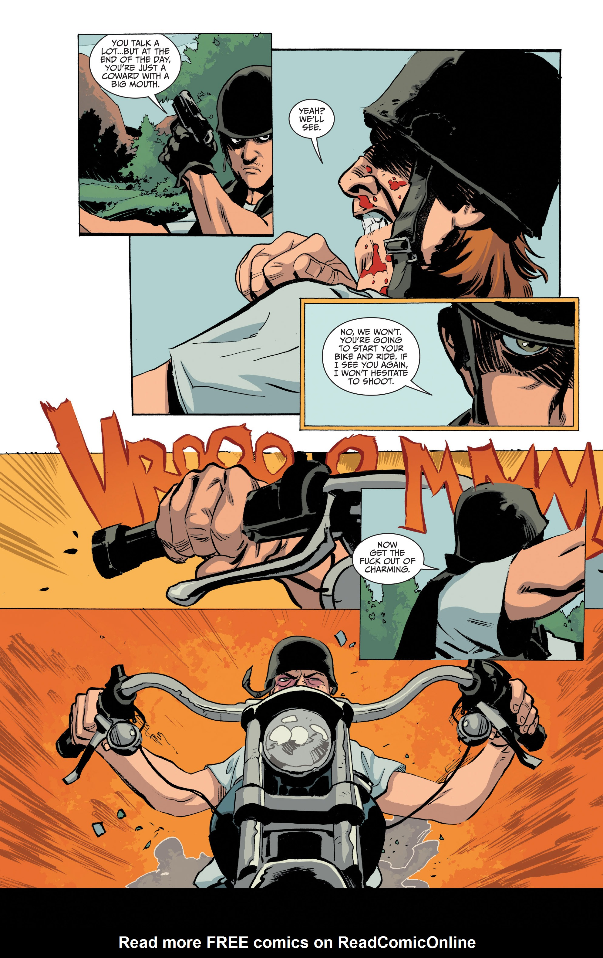 Read online Sons of Anarchy comic -  Issue #20 - 7