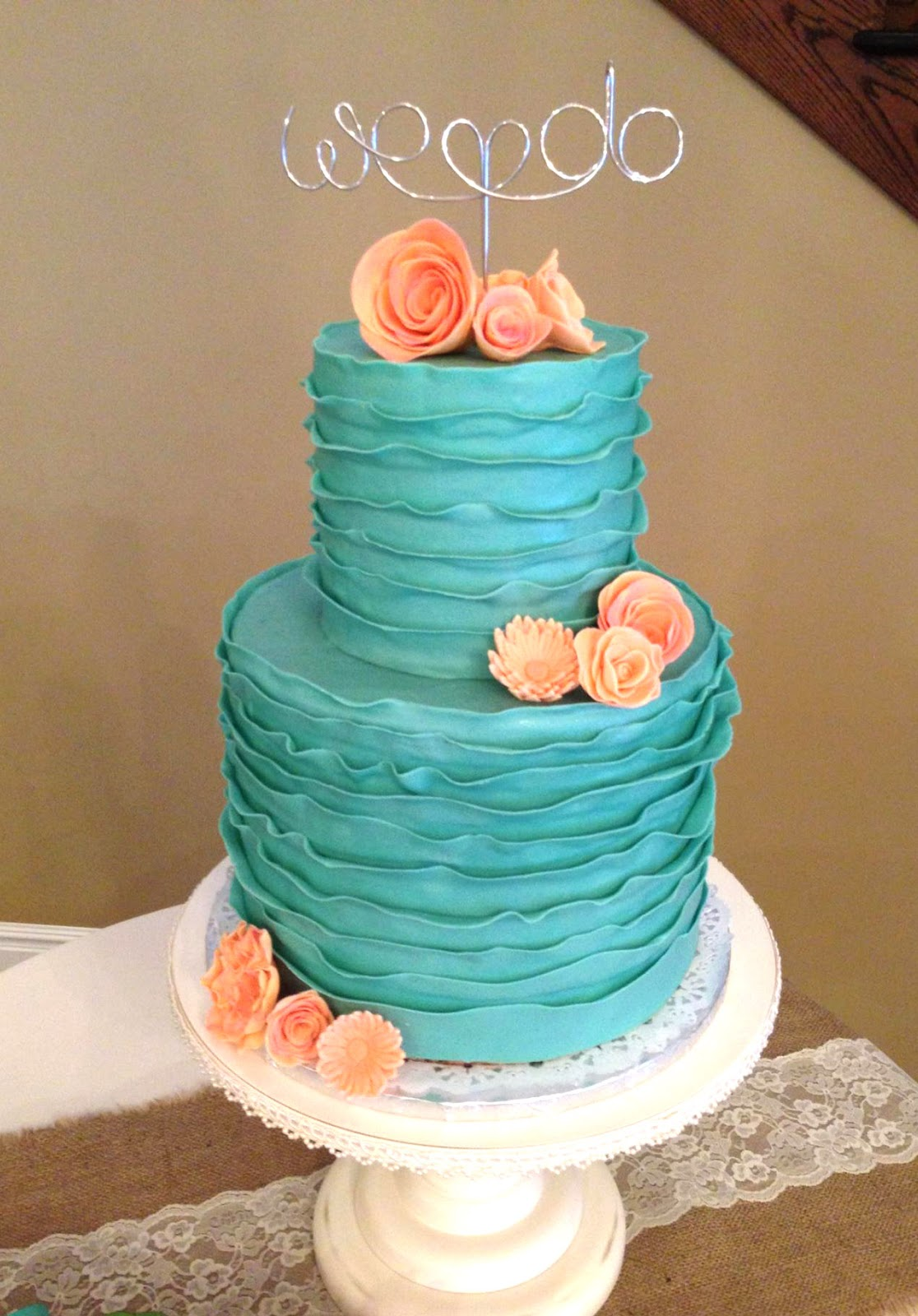 1 Tier Wedding Cake Prices