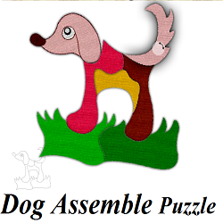 Dog Assemble Puzzle Game