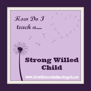 How Do I Teach a Strong Willed Child (Part 5 - Positive Reinforcement)