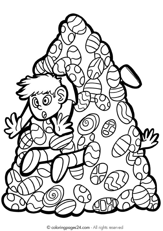 Easter Coloring Pages and Activities : Let's Celebrate!