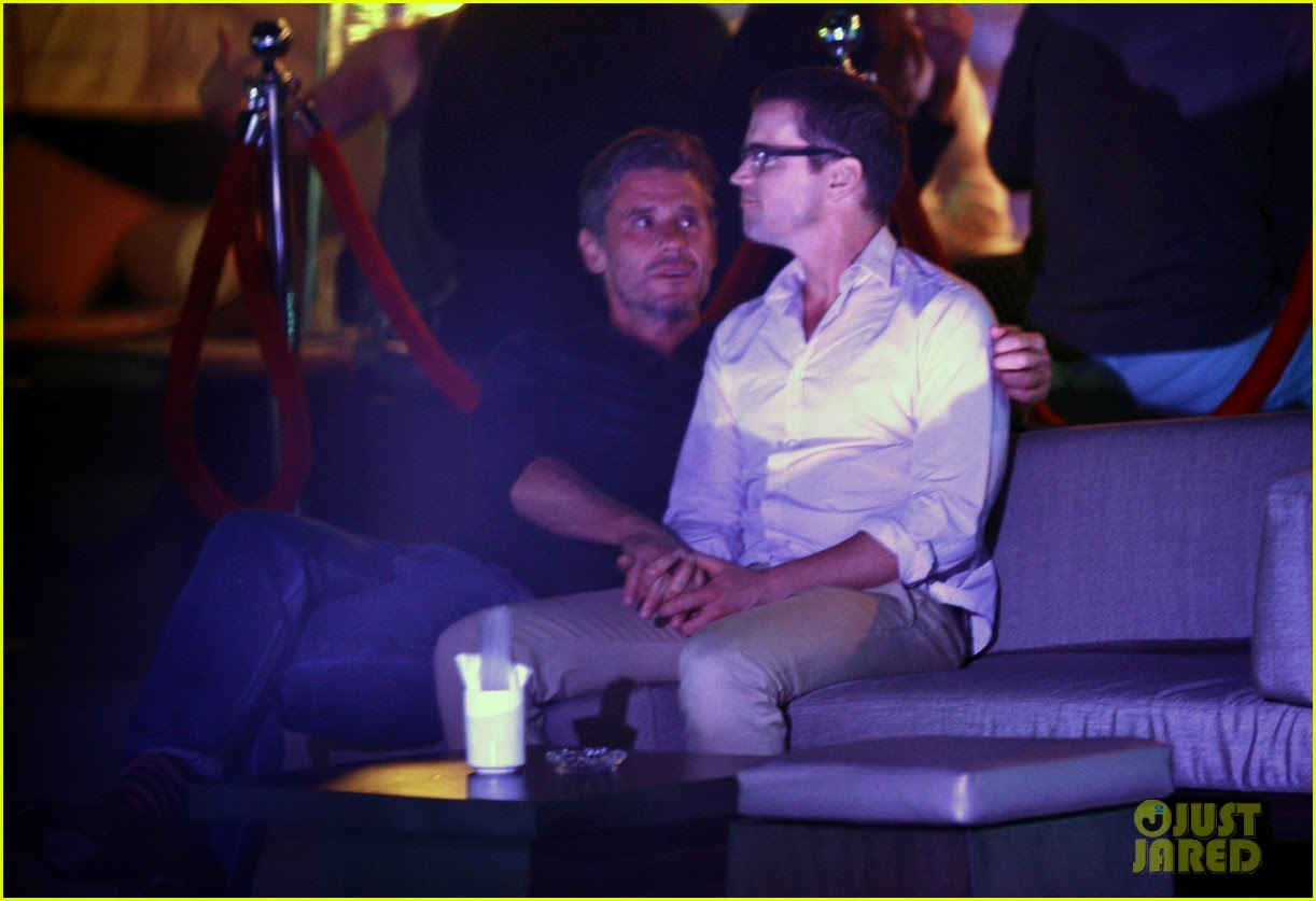 Celeb Diary: Matt Bomer and his partner Simon Halls seen ...