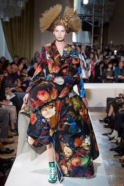 Comme des Garçons Spring 2018 Ready to wear - Art Painting