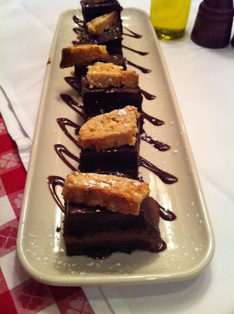 Chocolate Zuccotto Cake Layered With Sambuca Mousse