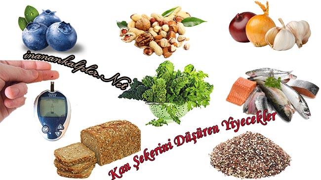 Kan Şekerini Düşüren Yiyecekler Nelerdir - www.inanankalpler.net